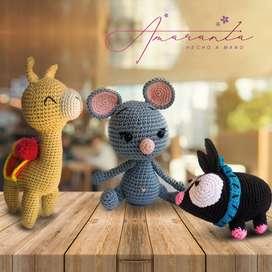 Amigurumi - Hechos A Mano - Tejidos En Crochet