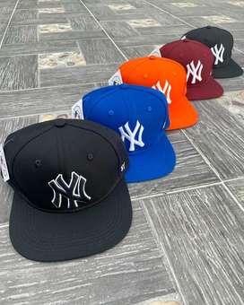 Gorras Planas New York Yankees de Lujo