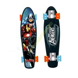 Skate De Aluminio Con Luces Avengers PA-18 Electrodomesticos Jared