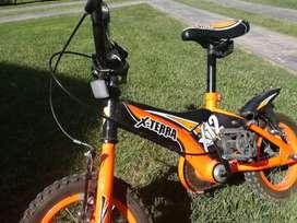 Vendo bici X-terra nueva rodado 12