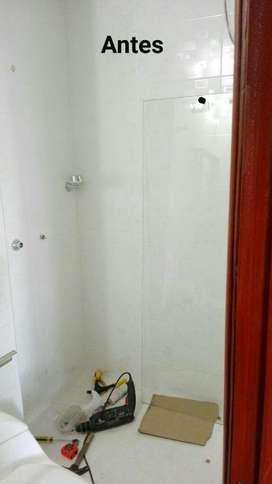 Puertas Correderas Y Batientes para Baño