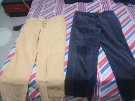 vendo dos pantalones de lino
