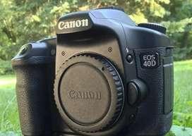 Camara Canon Eos 40d 10.1mp Digi Slr Ef-s 18-135mm F/3.5-5.6