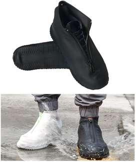 Botas Impermeable Para Zapatos De Silicona Reutilizable Antideslizante Con Cremallera