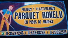 Pulido - Plastificado -instalacion Pisos
