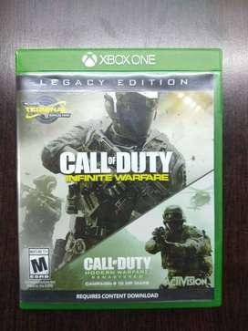 Videojuego Call Of Duty Infinity Warfare Legacy Edition - Usado como nuevo