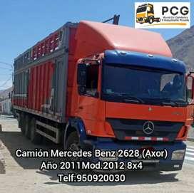 Camión  Mercedes Benz Axor Año 2011
