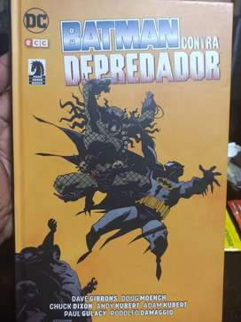 Batman contra depredador cómic libro 416 pág DC no neca spawn