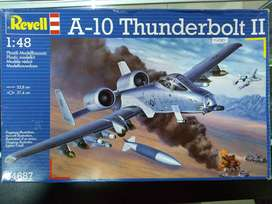 1/48 Avion A 10 Thunderbolt Ii Tanque Mirage Diecast Armado