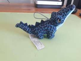 Art 515 Peluche Cocodrillo Mc Donalds Azul