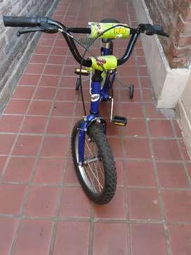 Bicicleta de nene r 16