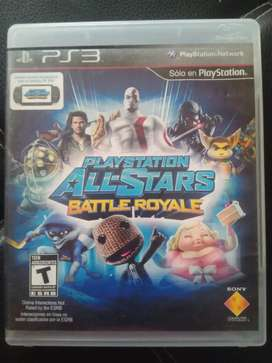 Play station allá stars battle royal