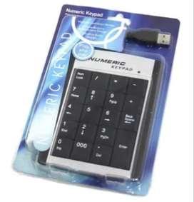 Teclado Numerico USB Portatil O Pc Usb de buena calidad