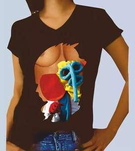 Camisetas para carnaval