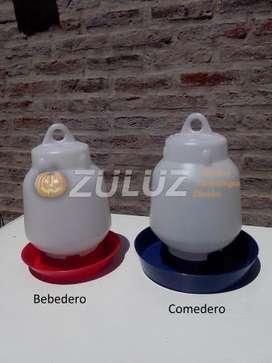 Bebederos Y Comederos Pollitos Bb
