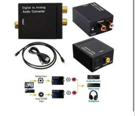 convertidor de audio digital a audio rca