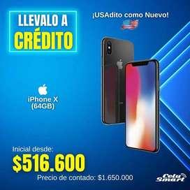 iPhoneX ¡USAdito como Nuevo!