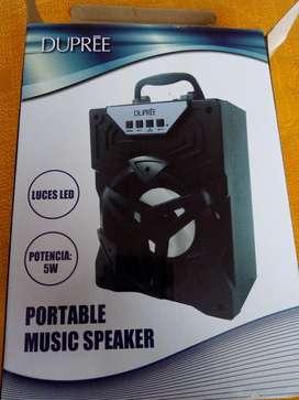 Parlante Bluetooth Speaker Dupree