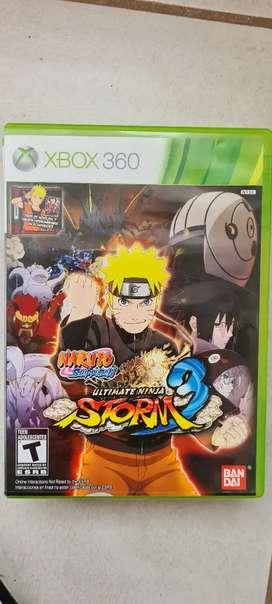 Naruto storm 3 original xbox 360