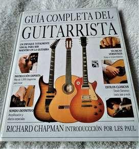 GUIA COMPLETA DEL GUITARRISTA; RICHARD CHAPMAN; ED. DIANA -MEXICO- MUY ECONOMICO!!