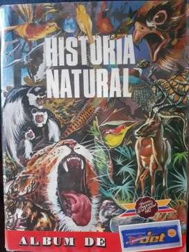 Vendo álbum de Historia Natural Jet original completamente lleno