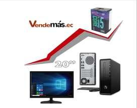 Oferta Intel Core I5 9400 HP Mini CPU 8gb 1tb Wifi Monitor 20 PC