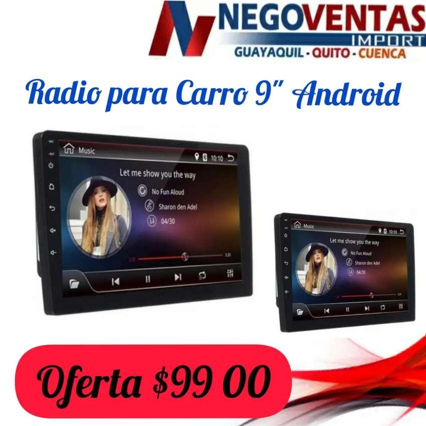 RADIO DE CARRO ANDROID 9 PULGADAS 0