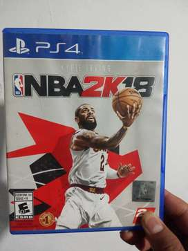 Vendo NBA 2K18 en excelente estado