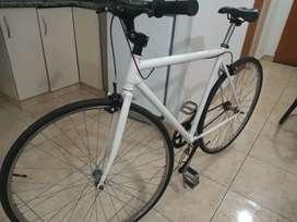 Bici biker semi ruta