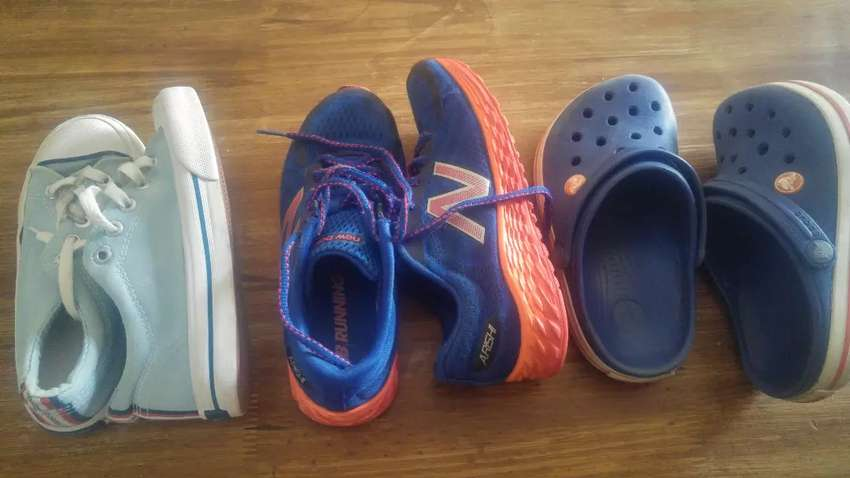 Zapatillas Running New Balance CROCS y TOPPER 0