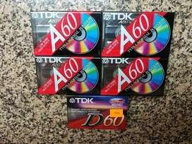 Cassette Virgen TDK