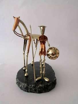 Don Quijote de la Mancha con Caballo