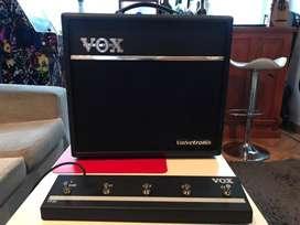 Amplificador vavetronix vt 40+ con foot swich como nuevo
