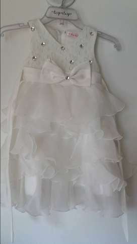 vestido para niña 3 años talla 6