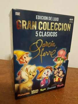 DVD Edición de Lujo Gran Colección 5 Clásicos de García Ferré.
