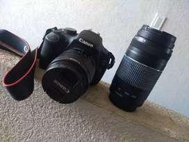 Canon EOS 1200D con Canon Zoom Lens EF 75-300mm 1:4-5.6 III