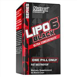 Lipo 6 Black Ultraconcentrado