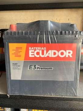 Bateria Ecuador N40Full Equipo E3 E4
