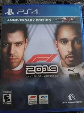 F1 2019 PS4 usado