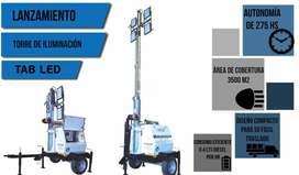 Torres de iluminación autónoma LED marca Bounous