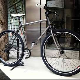 Bicicleta urbana. Rodado 29. 7 velocidades. Monoplato