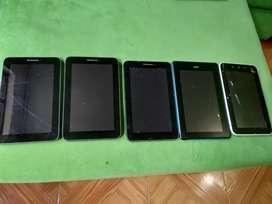 Tablets funcionales  para reparar o repuestos
