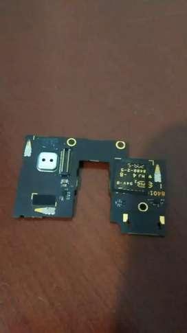 Flex de SIM Card para Motorola g3