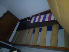 2 camas doble y sencilla