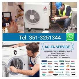 Ag-fa Service de Aire Acondicionados y lavarropas