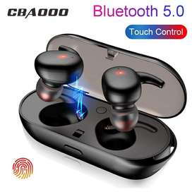 Audífonos Bluetooth 5.0 Touch Invisibles