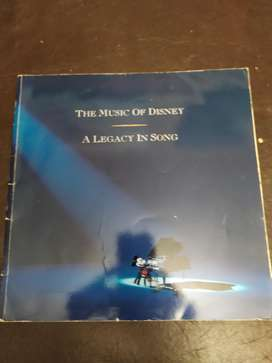 the music of disney , a legacy in song , en ingles