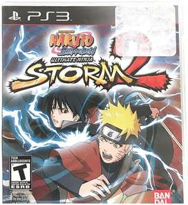 Naruto Shippuen Ultimate Ninja Storm ll PS3