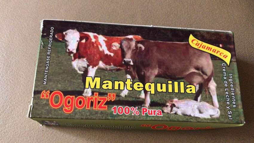 Mantequilla cajamarca 0