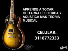 CLASES DE GUITARRA Y TEORÍA MUSICAL